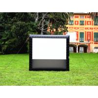 Giant Inflatable Movie Screen Projection Screen Outdoor Movie Display For Events Manufactures