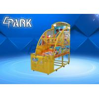Hardware Material Basketball Shooting Arcade Machine / Coin Operated Amusement Machines Manufactures