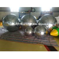2m Inflatable Advertising Air Balloons , Party Decorative Large Mirror Ball Manufactures