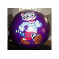 0.18mm PVC Inflatable Printed Helium Balloon For Advertising Waterproof Manufactures