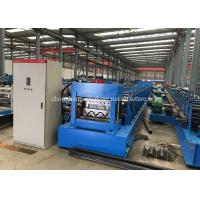 Safety Crash Barrier Roll Forming Equipment With Two 18.5kw Motor Control Manufactures