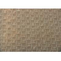 Reactive Dye Grid Jacquard Material Shrink - Resistant For Hometextile Manufactures
