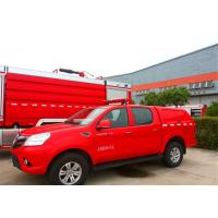 Quality Front Overhang 1000mm Fire Command Vehicles 1800mm Lifting Height ISO9001 Certificated for sale