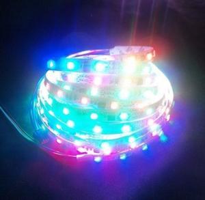Digital magic dream color flexible led strip light 60leds/m WS2811 IC built-in LED Manufactures