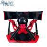 Buy cheap 2018 Electric System Red 3 Screen 9d Vr Car Racing Simulator 360 Degree Racing Car Simulator from wholesalers