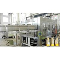 China PET Bottle Gravity Hot Filling Machine Heat-resistant For Beverage on sale