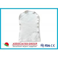 Disposable Skincare Wet Wash Glove Customized Weight For Cleaning Patient Body Manufactures