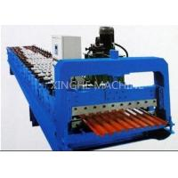 Quality 380V 3kw Roll Shutter Door Forming Machine , Sheet Metal Forming Equipment for sale