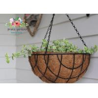 Fashion Colorful Decorative Hanging Flower Pots Garden Ornamental Manufactures