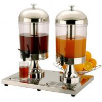Stainless Steel  Double Juice Dispenser Manufactures