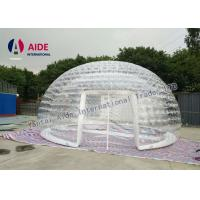 Quality 6m diameter Inflatable Event Tent Ventilation Inflatable dome Double Layer Tent Amazon for sale