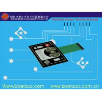 Professional Push Button Flexible Membrane Switch With LED OEM / ODM Manufactures
