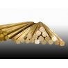 SGS Square Brass Rod , Hexagonal Brass Rod C3602 C3603 C3604 C3605 C3712 C3771 Manufactures