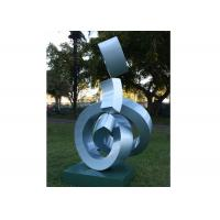 Buy cheap Outdoor Decorative Modern Art Stainless Steel Metal Sculpture Painted Finishing from wholesalers