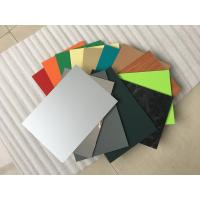High Intensity Polyester Aluminium Composite Panel , Aluminum Wall Panels Exterior  Manufactures