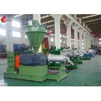 PRE180 PVC sheet Plastic Extruder Machine With Stainless Steel Hopper For Soft Film Manufactures