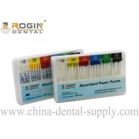 Colour Coded 2% 4% 6% ISO Size Absorbent Paper Points Endodontic Material F1 F2 F3 Manufactures