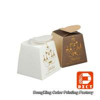 Quality Folding Custom Printed Packaging Boxes , Delicate Cute Chocolate Gift Boxes Packaging for sale