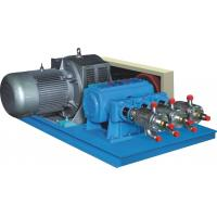Quality Large Flow LCO2 / LNG Industrial Gas Equipment Cryogenic Liquid Pump Blue Color for sale