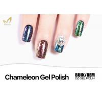 Ordoless Magic Chameleon Gel Nail Polish 12 Colors 1KG 15ML OEM / ODM Service Manufactures