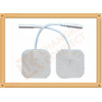 4 X 4 Cm Ecg Ekg Tens Machine Electrodes Changke Connect Durable Manufactures