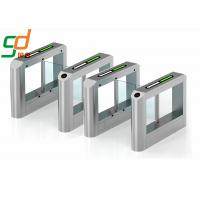 Access Control Bidirection Swing Barrier Gate  Turnstiles 1600*280*990mm Manufactures