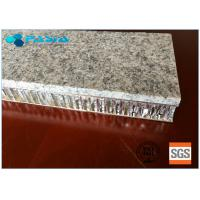 20 Mm Thickness Light Weight Onyx Honeycomb Stone Panels Small Radiation Pollution Manufactures