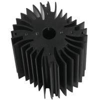 Drilling Bronze Aluminum Notebook Cooler Heatsink Extrusion Profiles Industrial With CNC Machining Manufactures