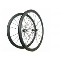 Quality Straight Pull Powerway R39 Hub 38MM Carbon Road Bicycle Wheelset 700C for sale