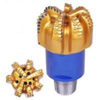 Quality High Drill Speed Dry / Wet Diamond PDC Bit For Well Drilling , High Matrix For Roof Tile for sale
