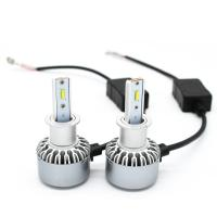 Quality Auto H3 Led Headlight Bulb 6500K , 30W 4000LM H3 Led Fog Light Bulb White for sale