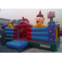 0.55 Mm PVC Tarpaulin Inflatable Playground Kids Amusement Parks Manufactures