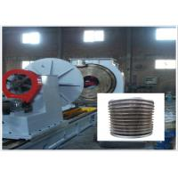 Automatic PLC Vee Wedge Wire Screen Welding Machine 2300MM Height Manufactures