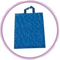 Quality Recyclable 0.15mm HDPE Soft Loop Handle Bag / Plastic Shopping Bags for sale