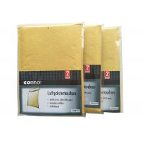Shrink Bubble Wrap Shipping Envelopes , Light Brown Kraft Padded Mailers Recyclable Manufactures