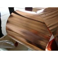 China High Flexibility Pure Copper Foil Sheet Roll For Electronic Appliance 0.010 * 250mm on sale
