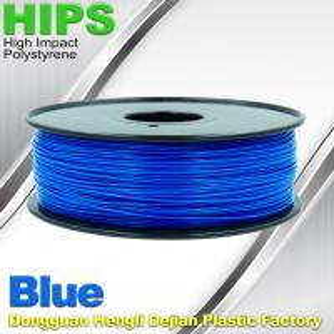 HIPS 3D Printer Filament 1.75 / 3.0mm  , Material for 3d printing Markerbot , RepRap Manufactures