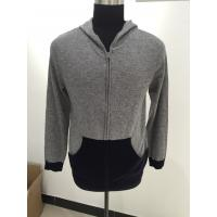 Buy cheap Long Sleeve Men Knit Sweater Men Hooded Sweater For Autumn / Winter from wholesalers