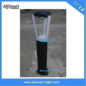 Aluminum  H60cm 1W solar bollard lights solar garden lawn lights solar sensor lights Manufactures