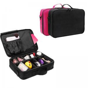 Women Portable Travel Oxford L34*D8cm Makeup Bag Case Manufactures
