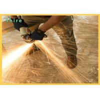 Ultra Tough Clear Carpet Protection Film Fireproof Tearing Poly Surface Protective Film Manufactures