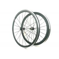 271 372 Hub Carbon Alloy Wheels Clincher Matte / Glossy Finishing With Alloy Brake Manufactures