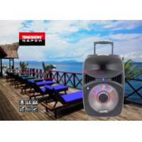 12 Inch Multifunctional Bluetooth Trolley Speaker System For Outdoor Party Manufactures