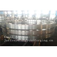 DIN JIS Stainless rolled steel rings Heat Treatment And Machined Manufactures