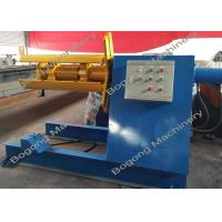 China Manual / Hydraulic Decoiler Machine Decoiler For Metal Panel Roll Forming on sale