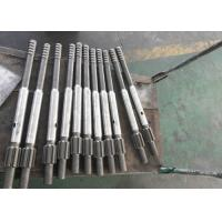 Mining Rod Drill Shank Adapter , CNC Machining Threaded Shank Drill Bit Adapter Manufactures