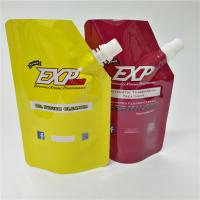 BPA Free Plastic Hair Mask Spout Bags Packaging Liquiddrink Coffee Stand Up Pouches Manufactures