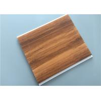 Hot Stamping PVC Wood Panels For Hotel / Bedroom / Bathroom 10 Inch Manufactures