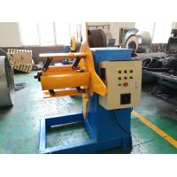 China 3 Ton Roll Forming Machine Parts / Hydraulic Decoiler 3KW Motor Powered on sale