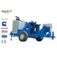 Quality 49.2hp / 36kw Underground Cable Puller , Underground Wire Pulling Equipment for sale